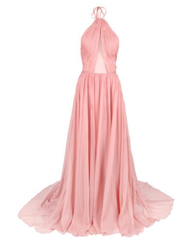 Photography of pink silk dress