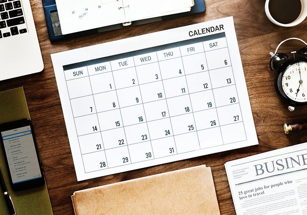 Construct a content calendar