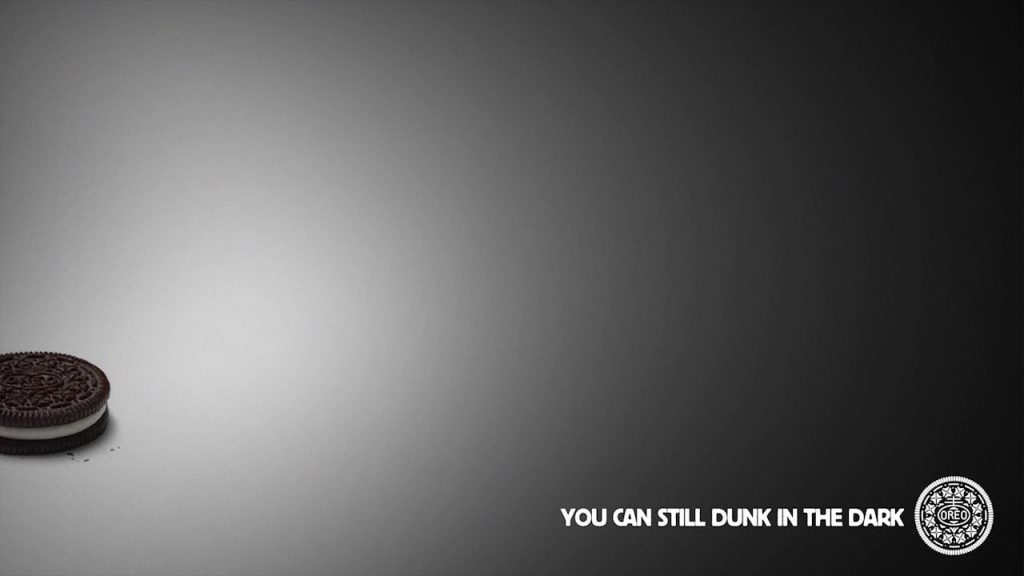 Oreo Black Out Ad