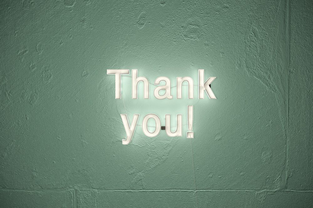 Create something using photography and video that makes your customer say thank you.