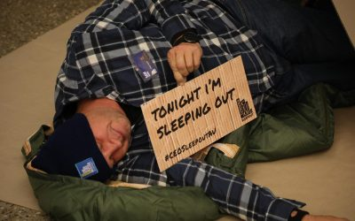 Vinnies CEO Sleepout 2018, 2019