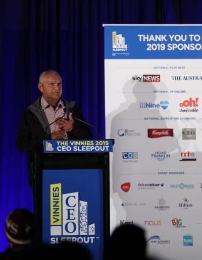 Visionair Media photograph CEO Sleepout in Sydney