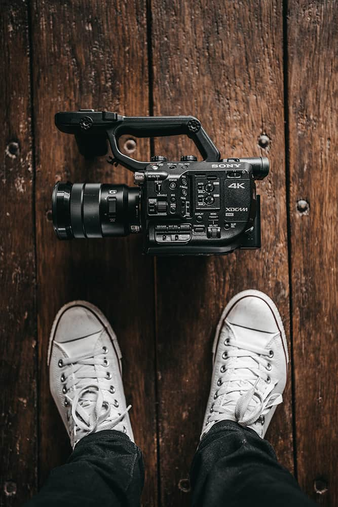 Think about the type of video you create before picking up the camera