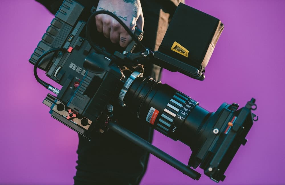 Use a crew to film your video campaigns