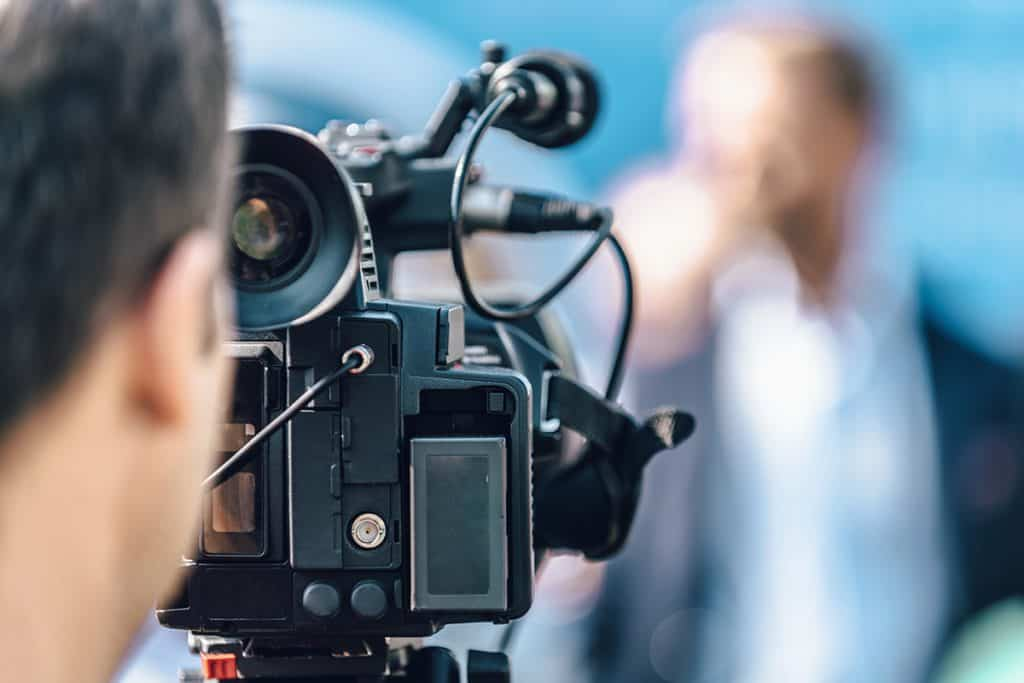 Create a weekly video which covers the news in your industry