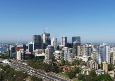 Aerial Photography Sydney Skyline