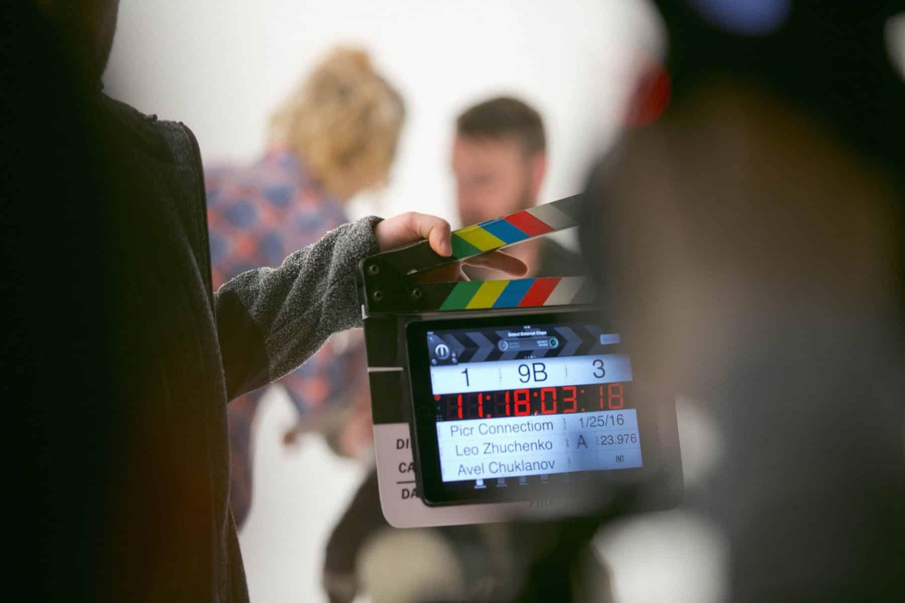 Video Production in Progress