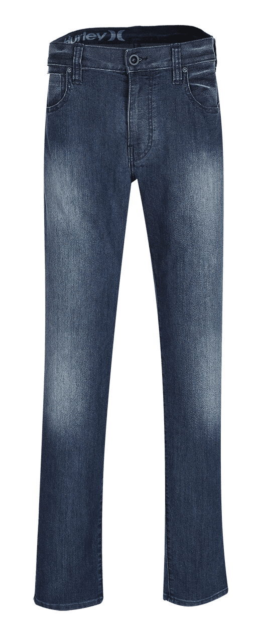 Jeans Photographed in Ghost Mannequin Style